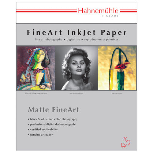 Hahnemuhle William Turner Matt Fine Art Paper - 310 gsm (13 x 19.0'', 25 Sheets)