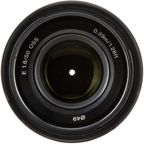 Sony E 50mm F1.8 OSS Lens
