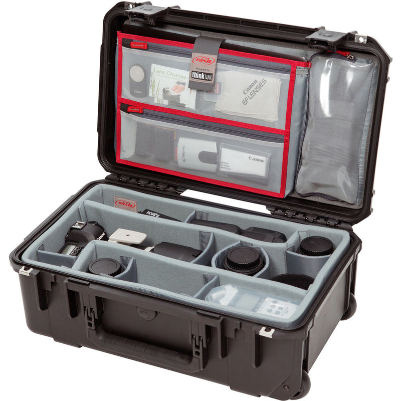 SKB iSeries 2011-7 Case with Think Tank Photo Dividers & Lid Organizer