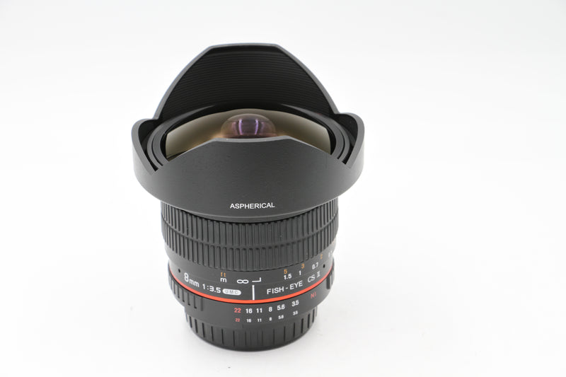 Rokinon 8mm F3.5 HD Fisheye [Nikon]