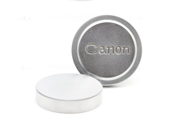 Used Vintage Canon Rangefinder Front Lens Cap m39 Rear Metal Cap