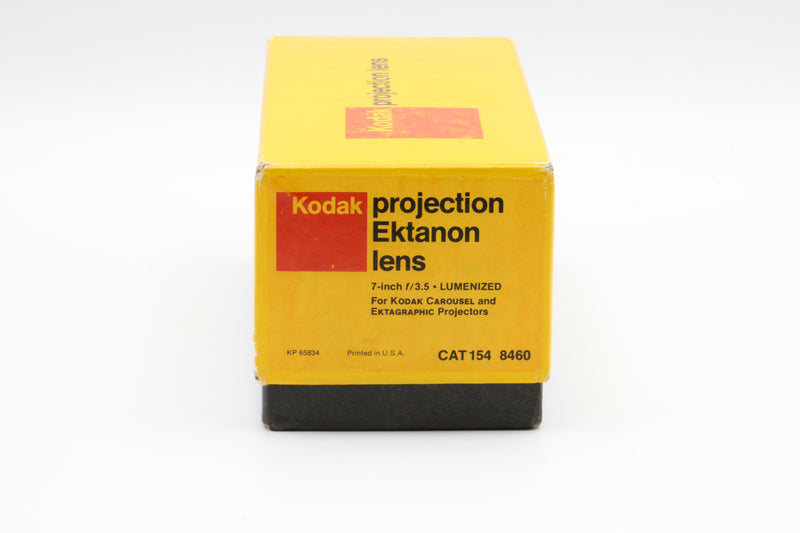 Used Kodak  Ektanon 7 inch f/3.5 Lumenized Projection Lens
