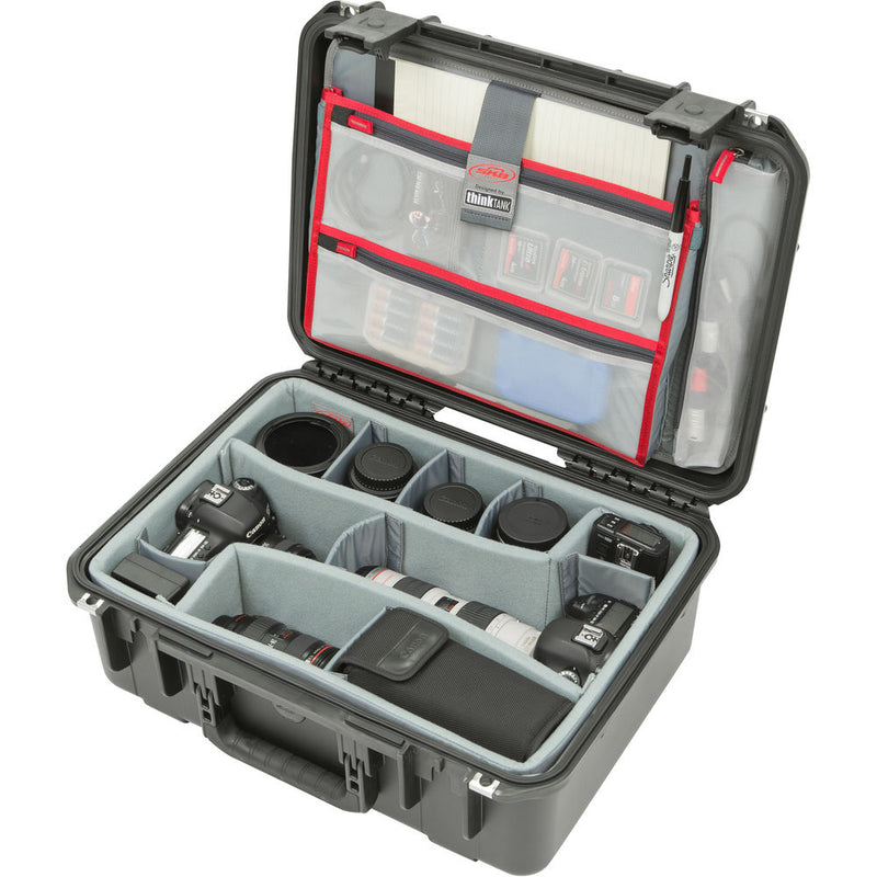SKB iSeries 1813-7 Case with Think Tank Photo Dividers & Lid Organizer