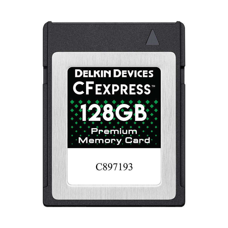 Delkin CFexpress POWER 128GB Memory Card (1700 MB/s)