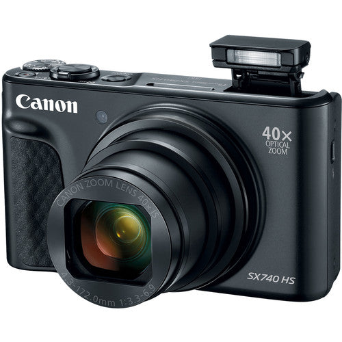 Canon PowerShot SX740 HS Camera [Black]