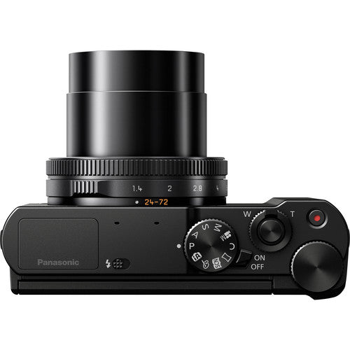 Panasonic Lumix LX10 Point & Shoot Camera [Black]