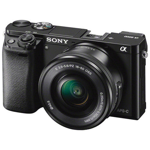 Sony Alpha a6000 Mirrorless Camera with 16-50mm Lens [Black]