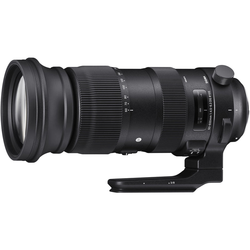 Sigma 60-600mm F4.5-6.3 DG OS HSM Sports Lens [Nikon]