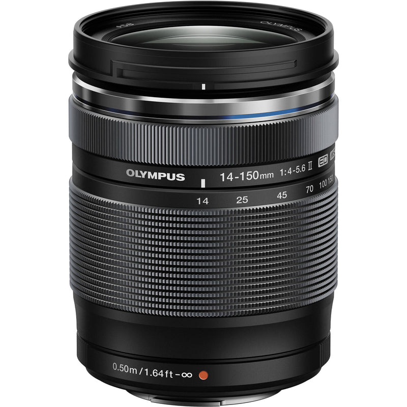 Olympus MFT 14-150mm F4-5.6 II Lens [Black]