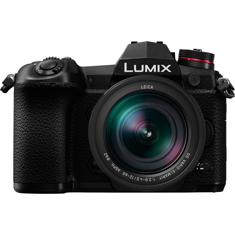 Panasonic G9 Mirrorless Camera with 12-60mm Lens [Black]