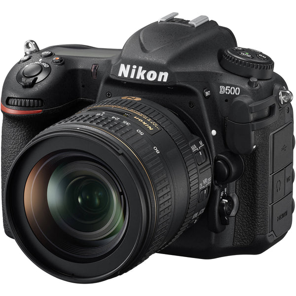 Nikon D500 DX DSLR Camera with 16-80mm VR Lens