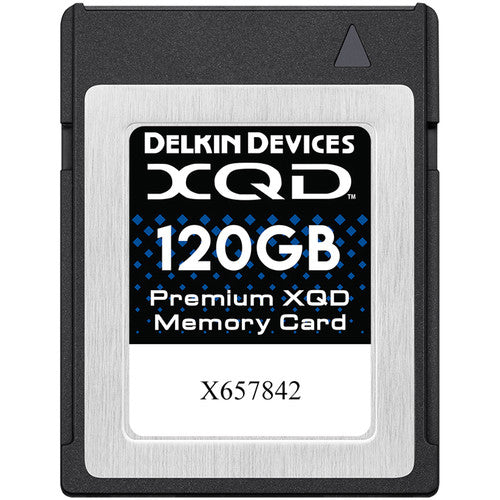 Delkin Devices 120GB XQD G Series (400MB/s)
