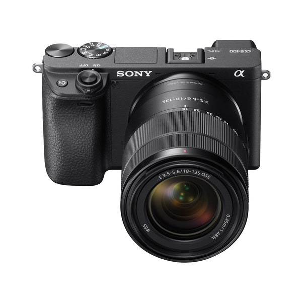 Sony Alpha a6400 Mirrorless Camera with 18-135mm Lens [Black]