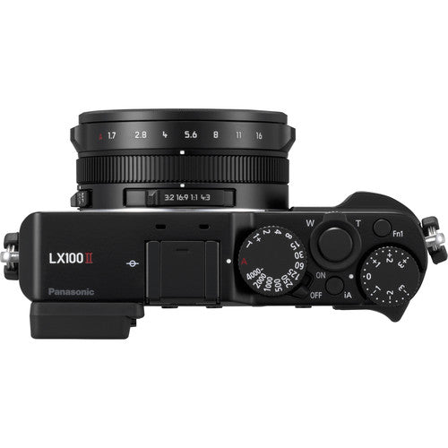 Panasonic Lumix LX100 Mark II Camera [Black]