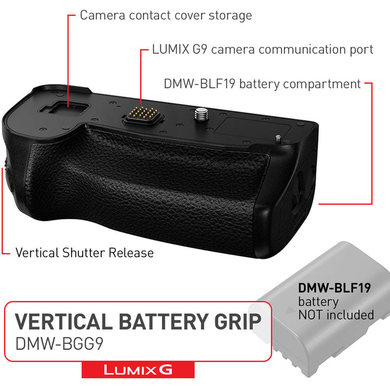 Panasonic Battery Grip for G9