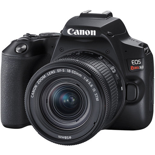 Canon EOS Rebel SL3 EF-S 18–55 IS STM Kit [Black]
