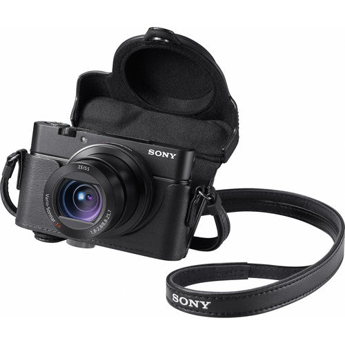 Sony Premium Jacket Case for RX100 Series Cameras [Black]