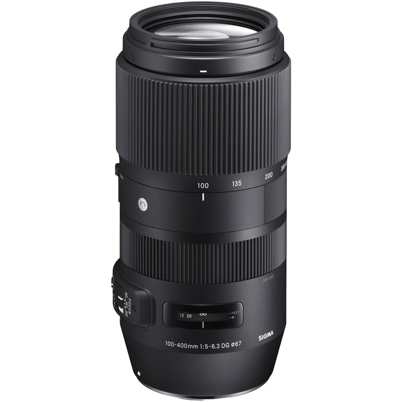 Sigma 100-400mm F5-6.3 DG OS HSM Contemporary Lens [Canon]