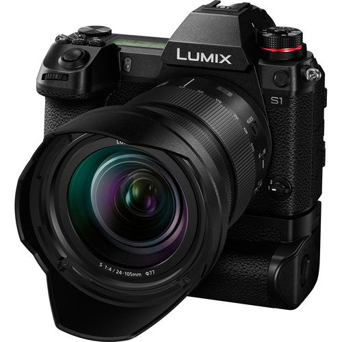 Panasonic LUMIX S1 Mirrorless Camera with 24-105mm F4 Macro OIS Lens