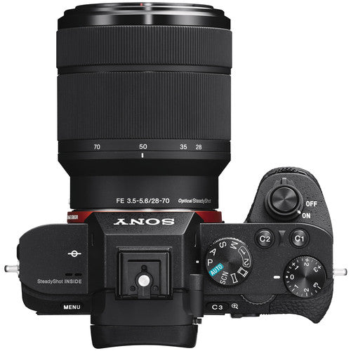 Sony Alpha a7 II FE Mirrorless Camera Body with 28-70mm Lens