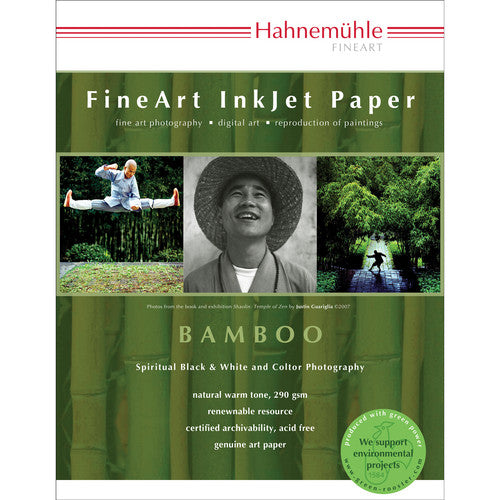 Hahnemuhle Bamboo Fine Art Paper (8.5 x 11'', 25 Sheets)