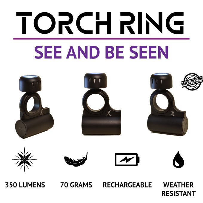 If you see better, then you will run better! Torch Ring is the light you have been looking for.