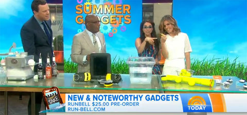 Runbell on the TODAY Show