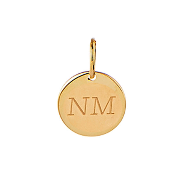 Najo Ares Charm 9kt Yellow Gold