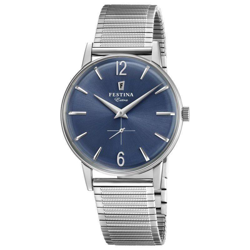 Festina Extra Blue Dial Watch
