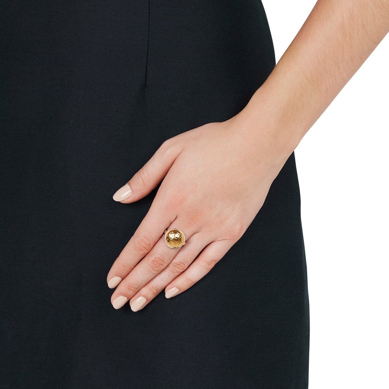 Najo Grand Golden Glow Ring