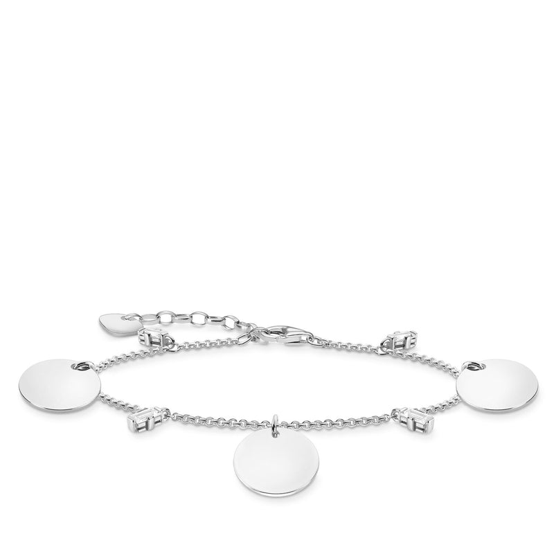 Thomas Sabo Bracelet Wih Three Discs