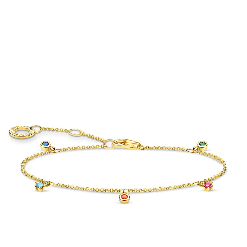 Thomas Sabo Bracelet Colourful Stones