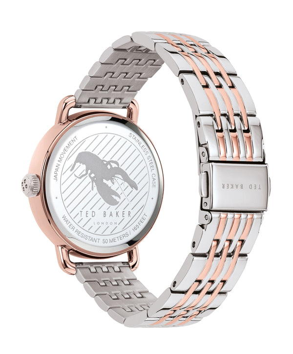 Ted Baker Hannahh Two Tone Bracelet Watch