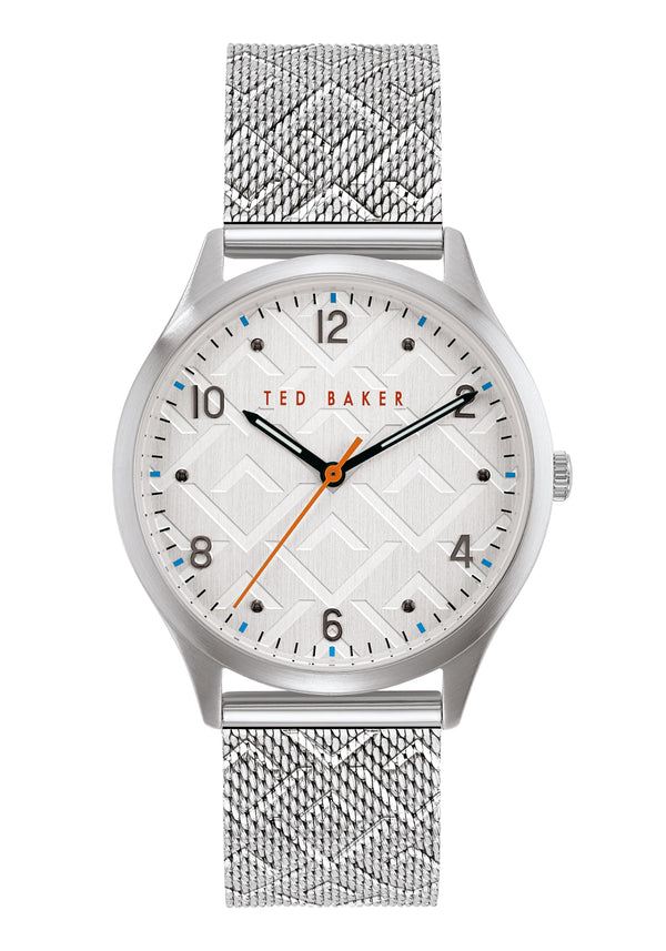 Ted Baker Manhatt Silver Mesh Watch
