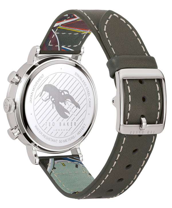 Ted Baker Marteni Silver Watch