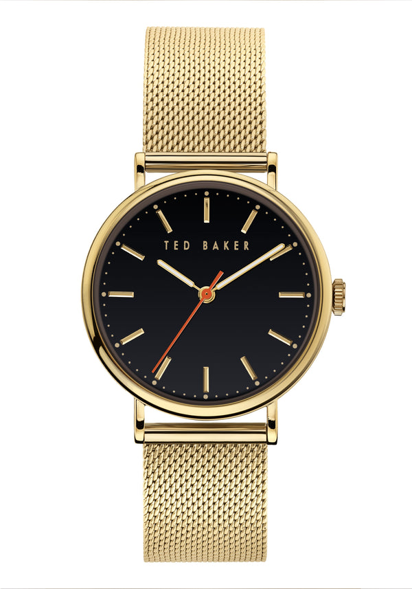 Ted Baker Phylipa Gold Mesh Watch