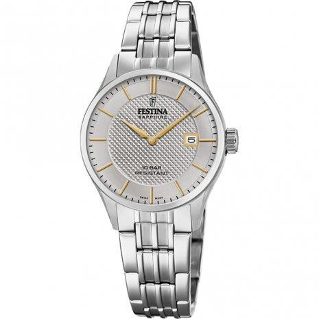 Festina Swiss Silver Bracelet Watch