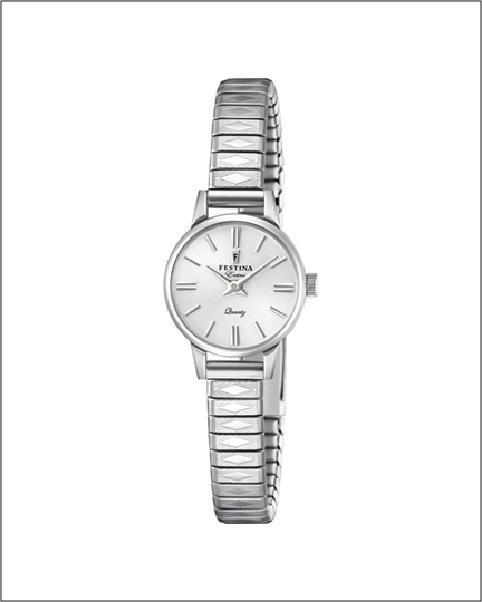 Festina Extra Silver 20mm Watch