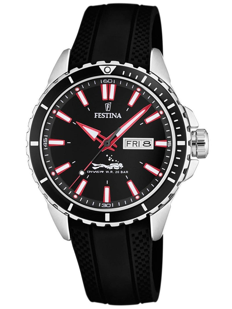 Festina Diver Black Watch