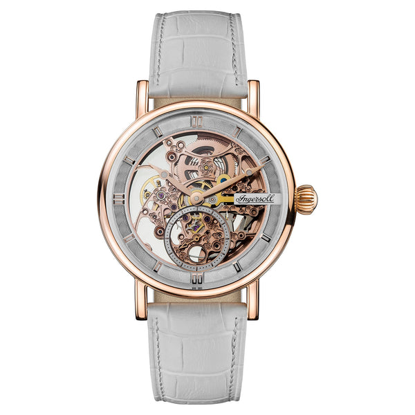 Ingersoll Herald Grey Automatic Skeleton Watch
