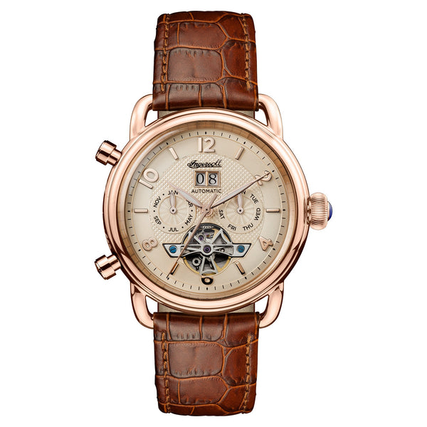 Ingersoll New England Automatic Brown Watch