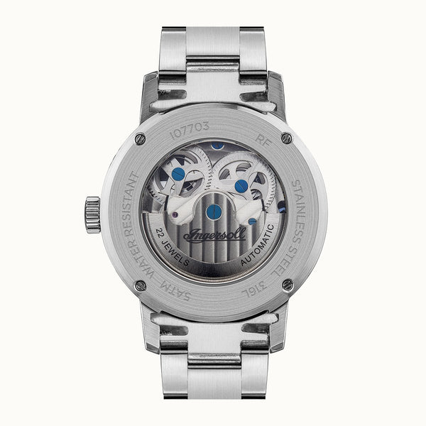 Ingersoll Jazz Silver Automatic Watch