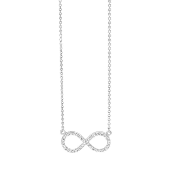 Georgini - Infinite Sterling Silver Cubic Zirconia Necklet