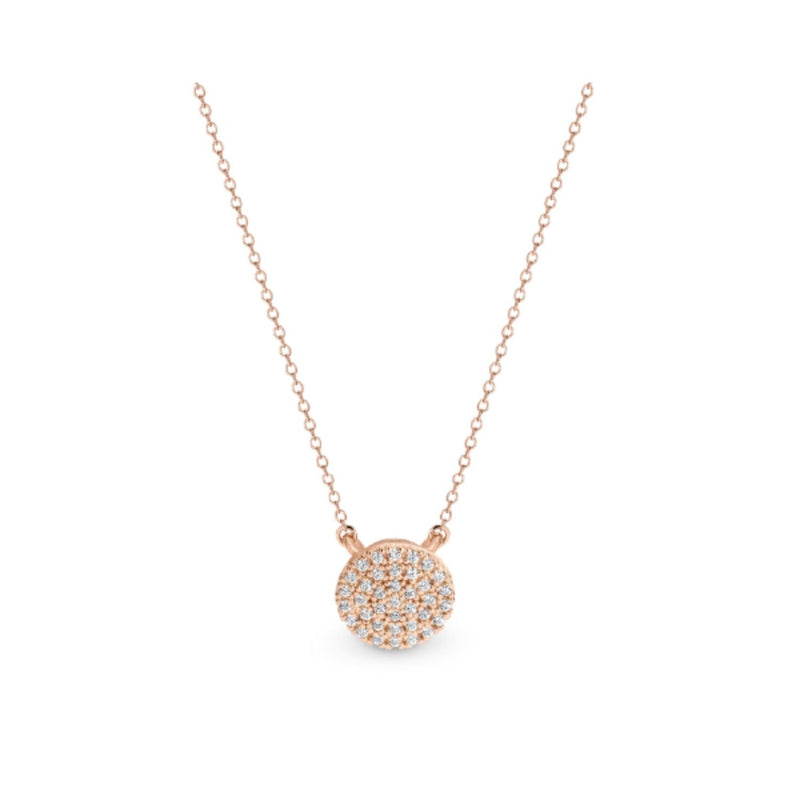 Georgini - Pavo Rose Gold Cubic Zirconia Necklet