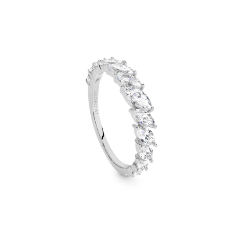 Georgini - Orion Sterling Silver Cubic Zirconia Ring
