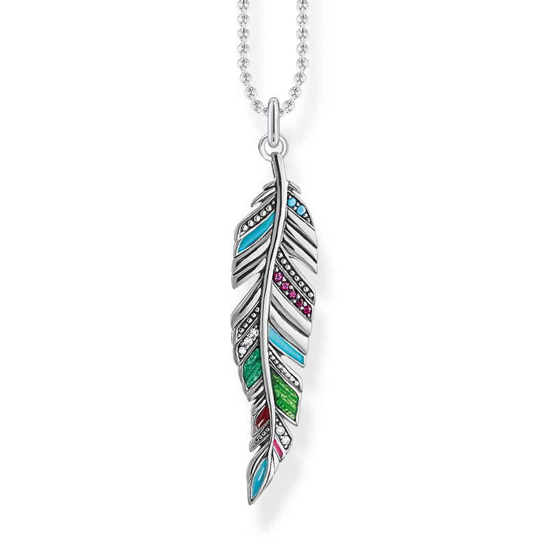 Thomas Sabo Necklace Feather