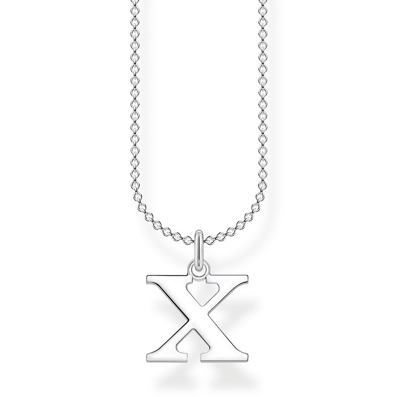 Thomas Sabo Necklace Letter X