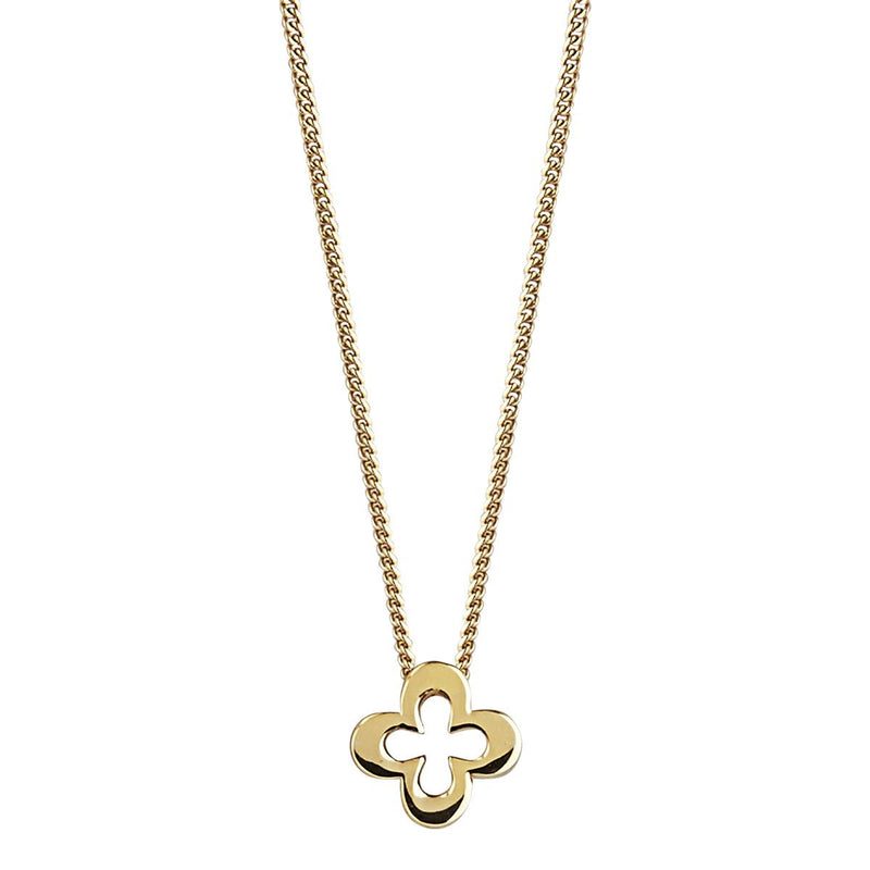 Najo 14kt Gold Plate Clover Necklace