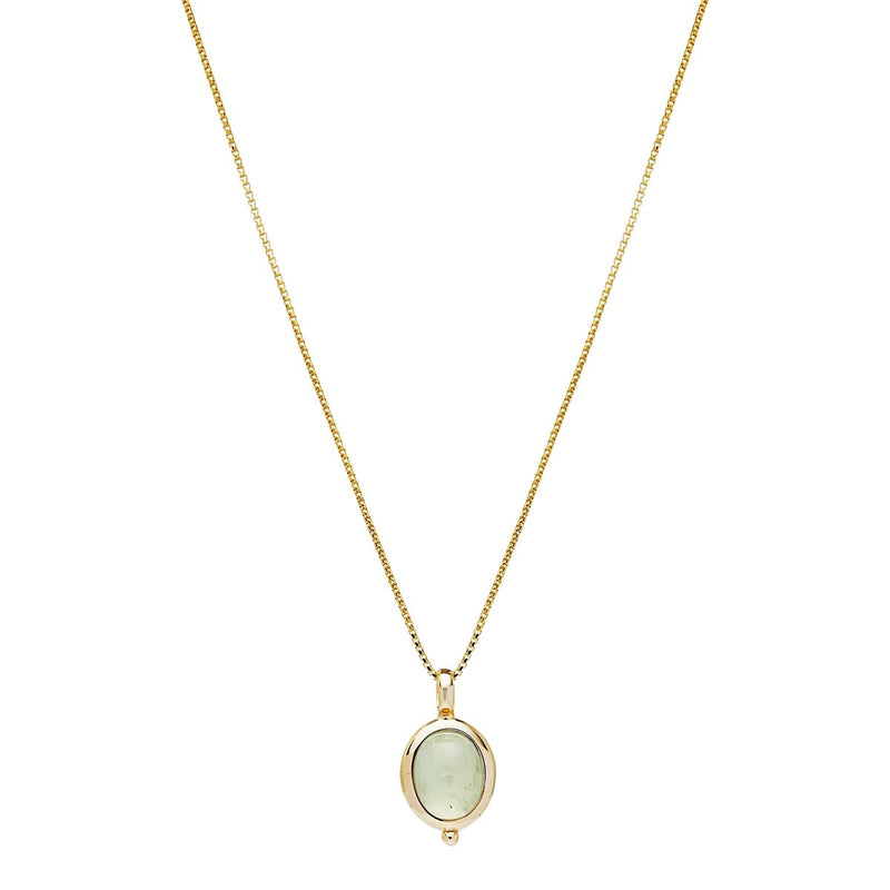 Najo Justinia Necklace Prehnite