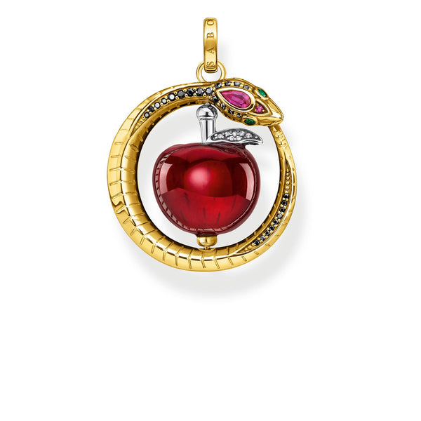 Thomas Sabo Pendant Apple With Snake